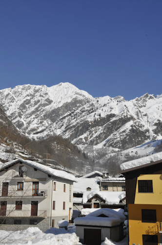 Panoramic view of Antronapiana