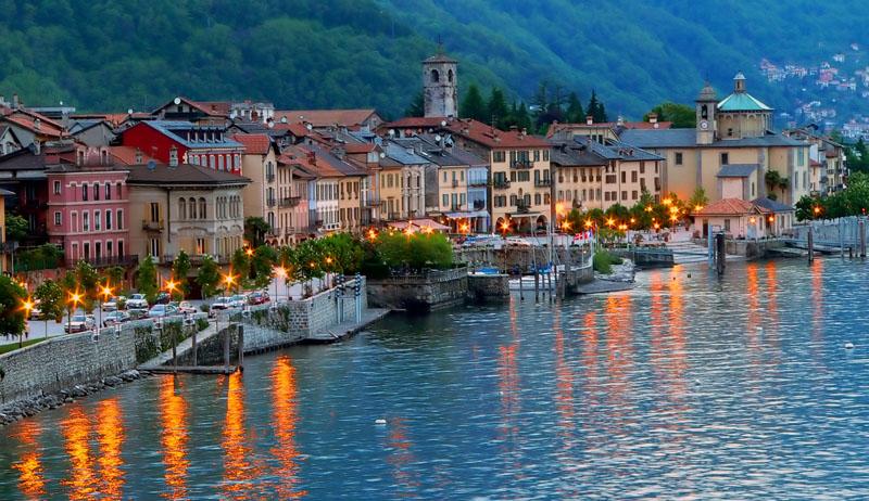 Cannobio, la promenade au bord du lac