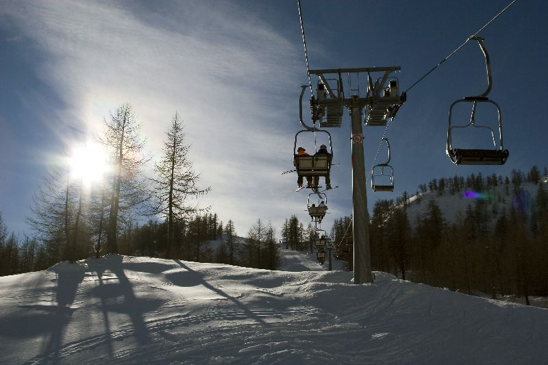 """""""Neveazzurra"""": das Paradies der Wintersporte"""