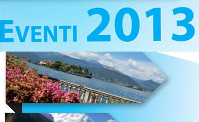 """Eventi 2013"": der neue Führer von ""Distretto Turistico dei Laghi"""