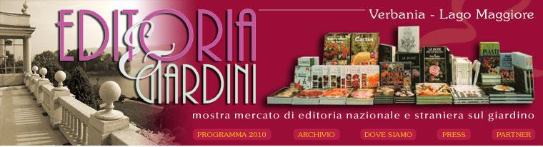 "Verbania: ""Editoria e Giardini"" bis zum 3. Oktober"