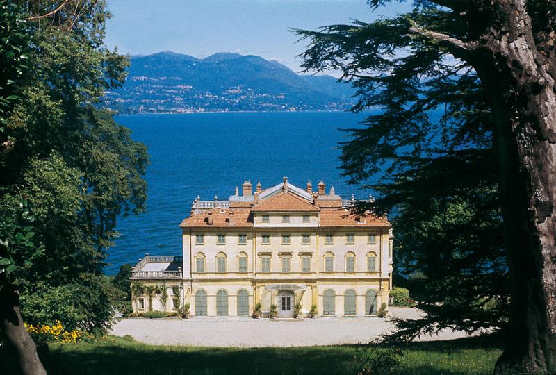 Le Parc de la Villa Pallavicino, décor du concert le 8 de Mai