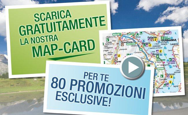 """Una """"map-card"""" ideata dal Distretto Turistico con 80 convenzioni per te"""