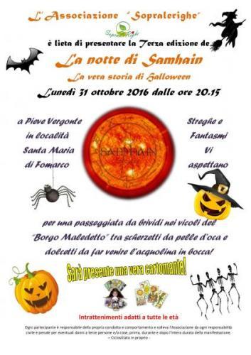 Halloween Storia Vera.Pieve Vergonte La Notte Di Samhain La Vera Storia Di Halloween Distrettolaghi It