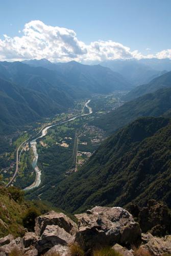 Panoramica sulla Val d'Ossola