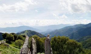Panorama da Pian Compra, sotto Piancavallo_L.Camocardi