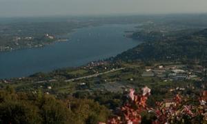 Panoramica da Nebbiuno - Vergante